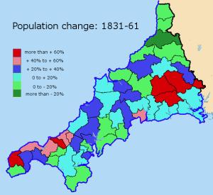 popn change 1831-61