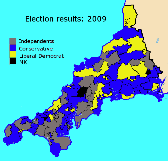 election results 2009