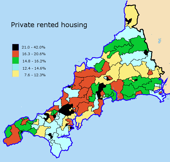 private rented housing