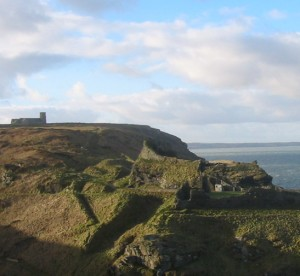 What do Tintagel's intriguing remains tell us about church and state in the 6th century?
