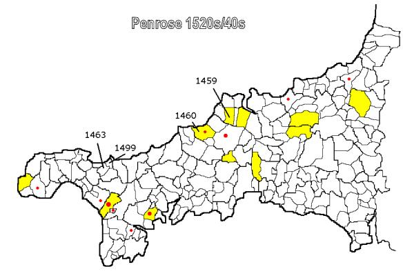Penrose C16th