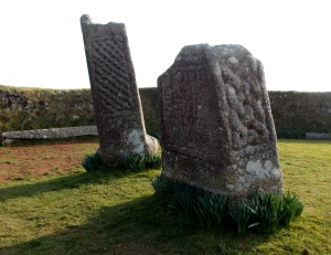 King Doniert's stone near St Cleer commemorates a Cornish king who was drowned around 878