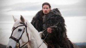 Bad news for the Britons. Uhtred on his way to sample some pasties